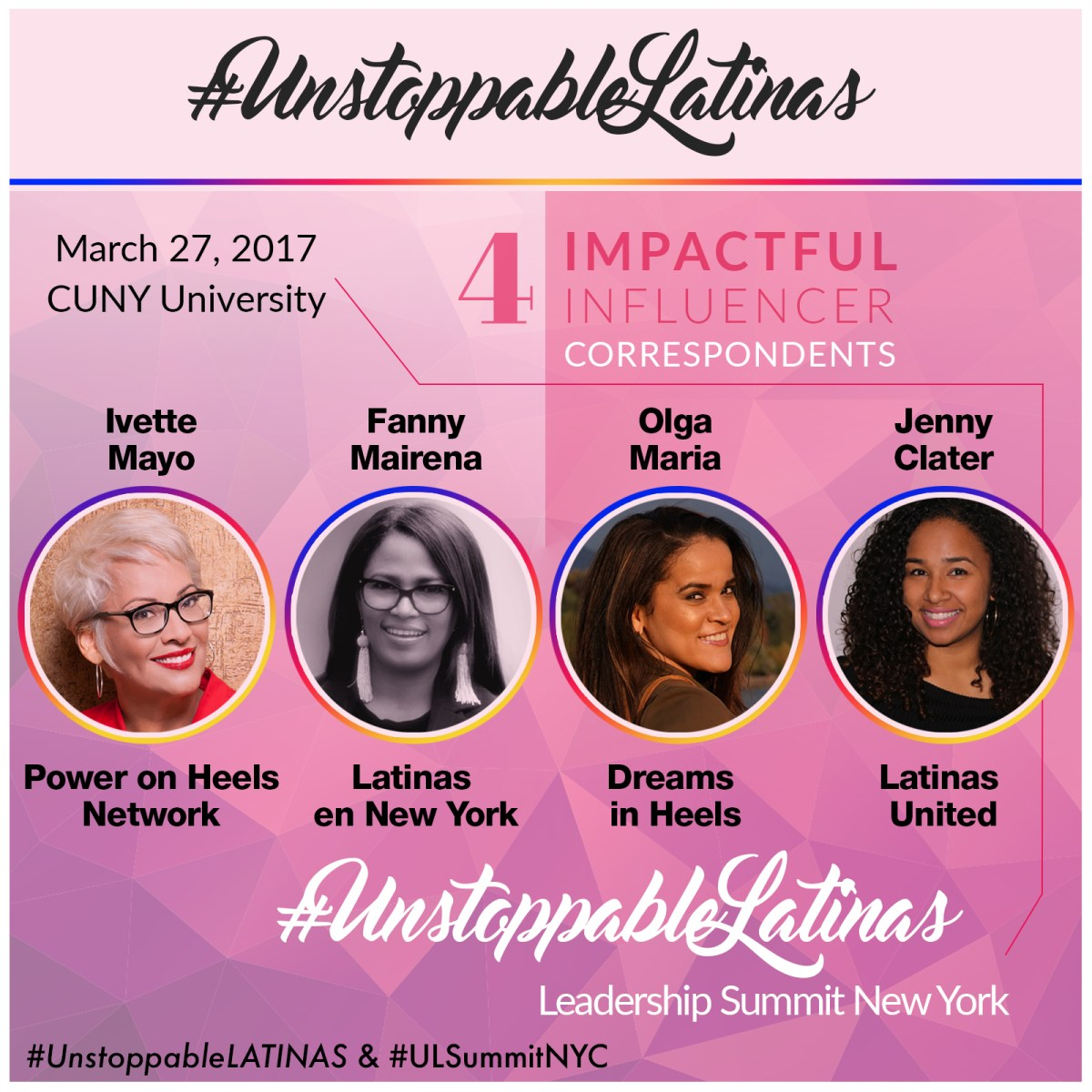 Join LENY Founder Fanny Mairena | #UnstoppableLATINAS Leadership Summit Digital Correspondent