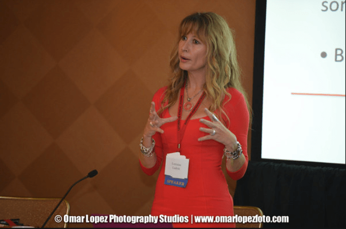 Lorraine C. Ladish at Hispana Leadership Institute your best age