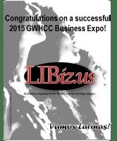 LIBizus media strategic partner at the GWHCC Business Expo 2015