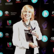Susana G Baumann, Editor-in-Chief LIBizus wins Tecla Award at Hispanicize 2015