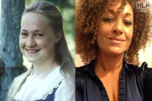 Rachel Dolezal, NCCP leader, before and after