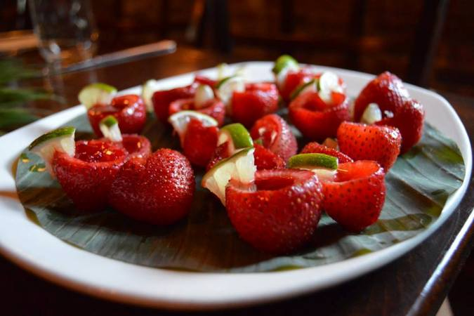 Chillotwn strawberries dessert