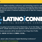 LatinoiConnect organized by HisCEC
