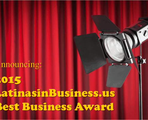 2015 LatinasinBusiness.us Best Business Award