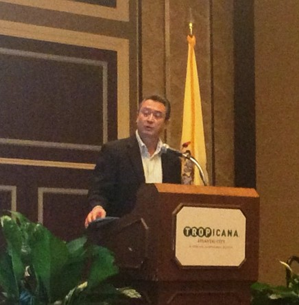 Don Daniel Ortiz, author and TV Host, speaker at the IAHMP Annual Convention