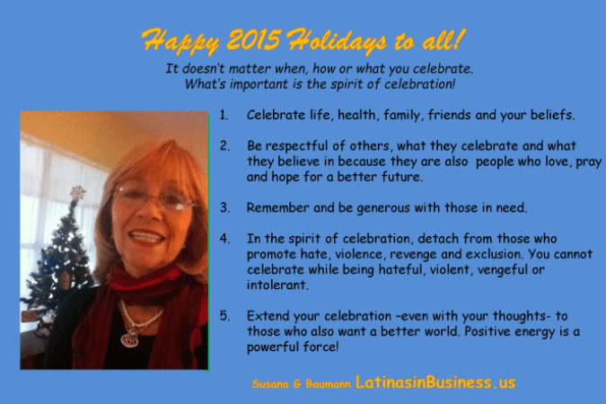 LatinasinBusiness Holiday Greeting 2015