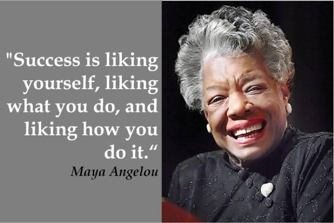 Maya Angelou favorite quotes