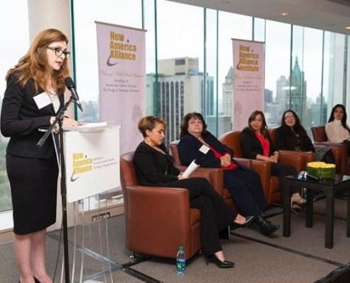 NAA Wall Street Summit 2015 American Latina Leadership Caucus panel
