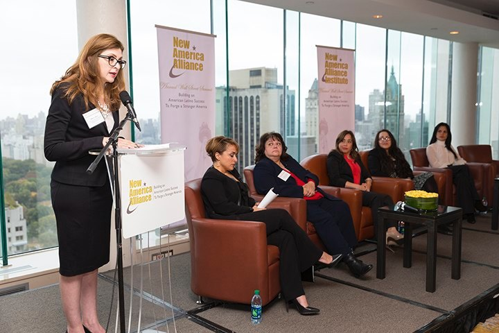 NAA Wall Street Summit 2015 American Latina Leadership Caucus panel