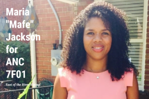 Mafe Jackson running for Ward 7 in DC
