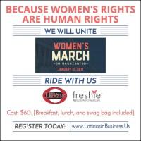 womens march on washington trip