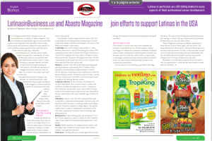 Abasto Magazine Latinas in the USA