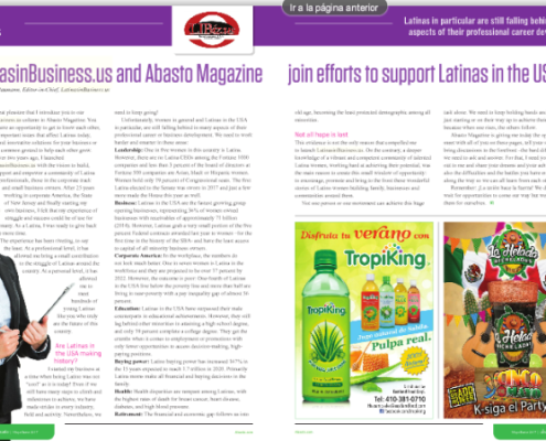 Abasto Magazine Latinas in the USA