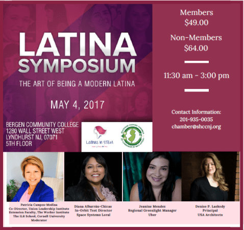 Modern Latina Symposium SHCCNJ
