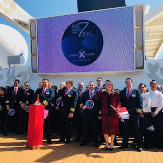 red shoe movement celebrity cruises gender equality