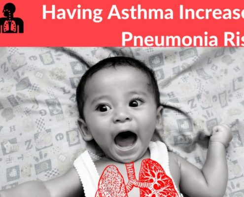 pneumonia children with asthma