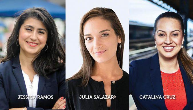 three Latinas in New York
