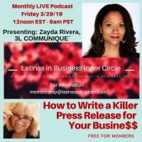 Zayda Rivera Latina entrepreneur