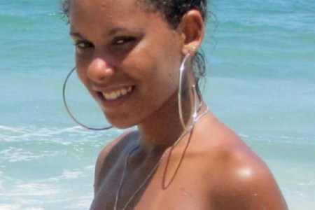 Brazilian Girl On The Beach