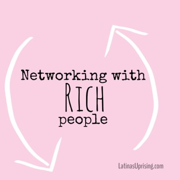 networking when you're poor