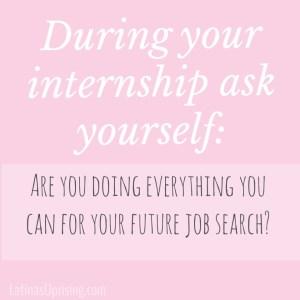 professionalism as an intern