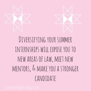 different law internships