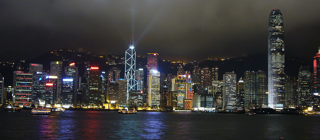 Hong Kong Skyline Latina Travel