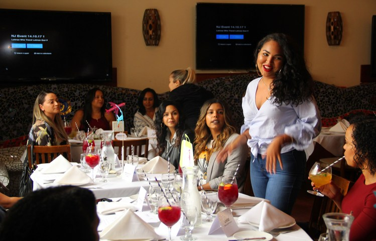 Gina The Baker - Latinas Who Travel NJ Event