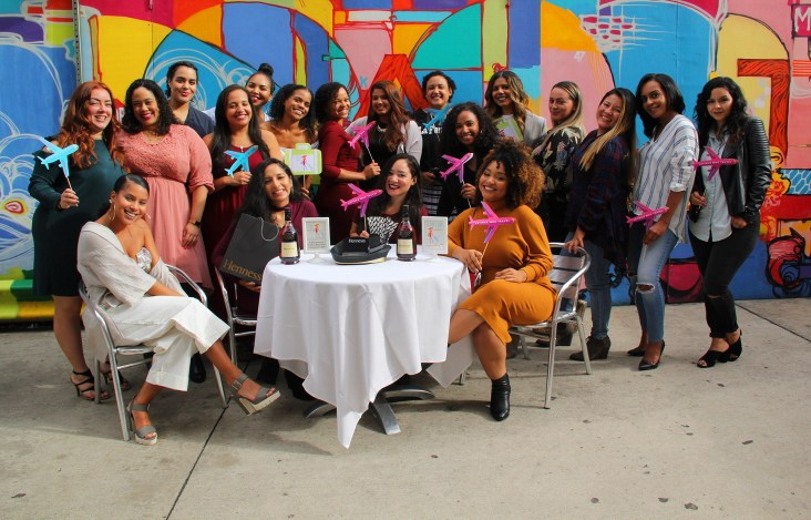 Latinas Who Travel Hispanic Heritage Month Event sponsored by Hennessy