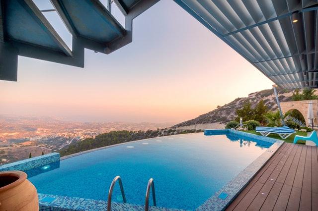 luxury pool travel