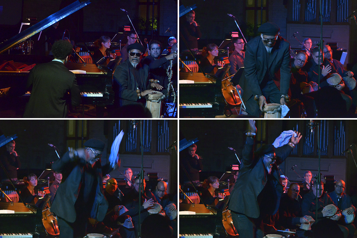 David Virelles at The Music Gallery - Toronto Nov 27 2015 09
