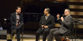 Mervon Mehta with Alfredo Rodriguez and Danilo Perez