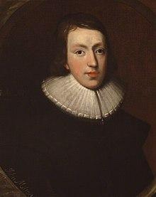 John Milton, con cuello francés, gran maestro y personalidad de la educación