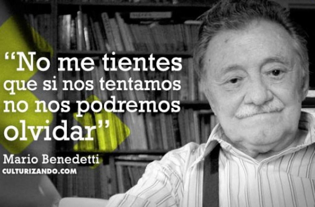 Uruguay se prepara para celebrar el centenario del poema Mario Benedetti.