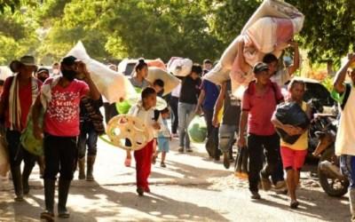 Durante el primer trimestre del año van más de 27.000 desplazados por violencia en Colombia.