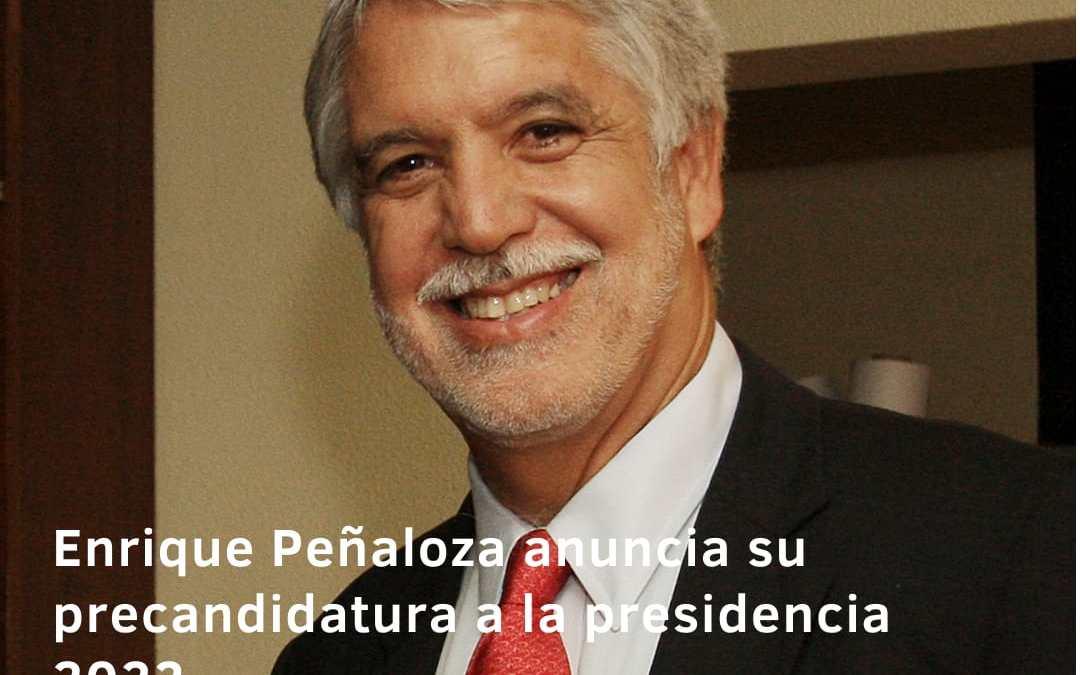 Enrique Peñalosa anuncia su candidatura a la Presidencia de Colombia