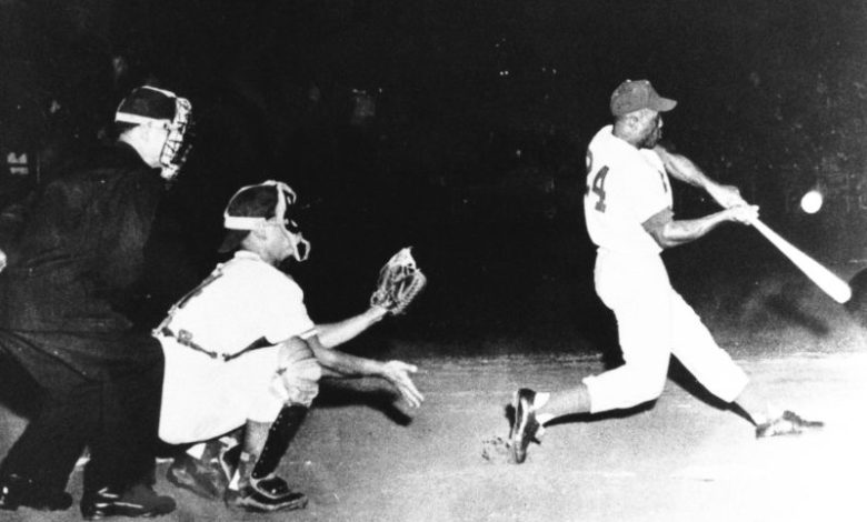 Willie Mays leads Puerto Rico to the 1955 Caribbean World Series championship in Venezuela.