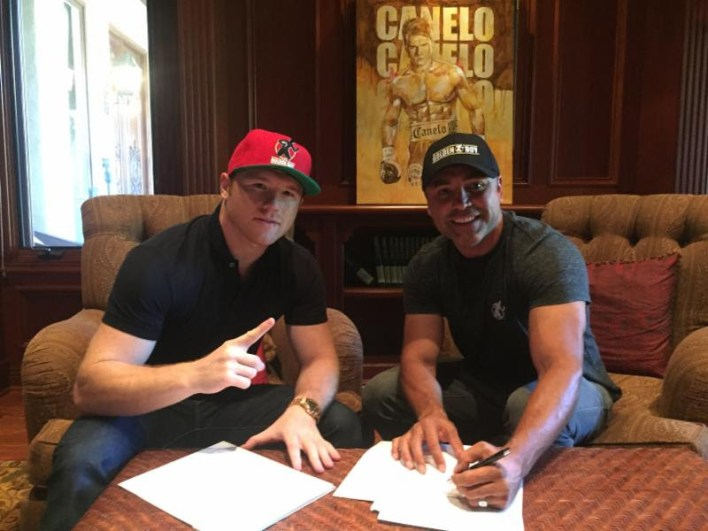 Canelo Alvarez and Golden Boy Promotions