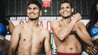 Photo of Elio Rojas:  Confident going into Garcia fight on Showtime