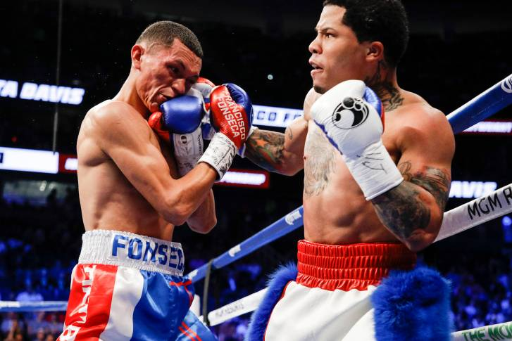 Gervonta Davis vs Francisco Fonseca