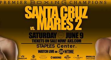 Photo of Featherweight World Champions Leo Santa Cruz & Abner Mares Square-Off in World Title Rematch