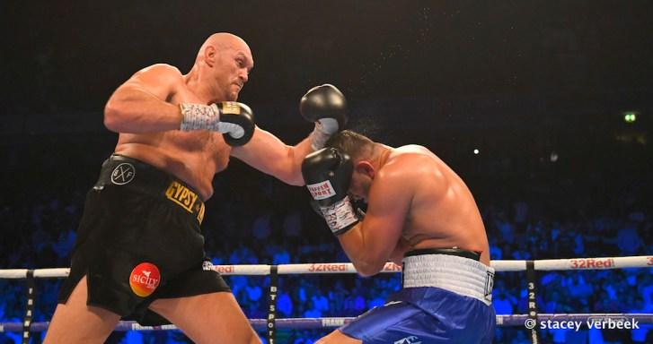 Tyson Fury Action