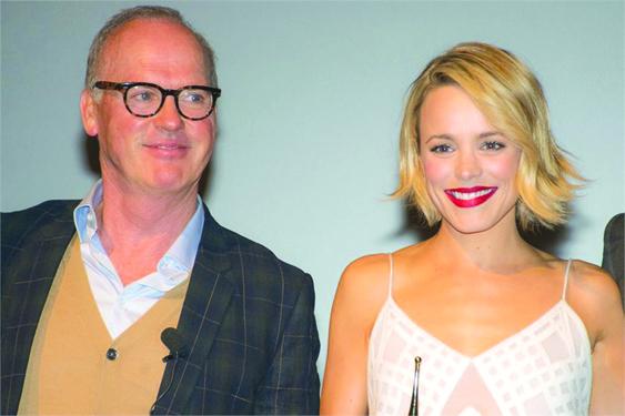 Michael Keaton y rachel McAdams./OSCAR FLORES