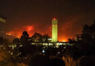 Incendio Cave: cancelan evacuaciones en Santa Bárbara