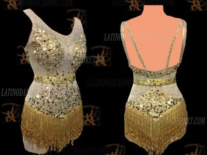 LATINODANCESPORT.COM-Ballroom LATIN RHYTHM Dance Dress-LDS-39