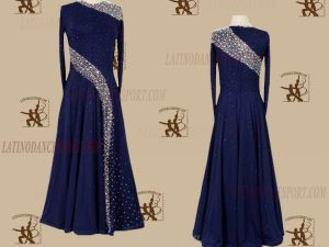 LATINODANCESPORT.COM-Ballroom STANDARD SMOOTH Dance Dress-SDS-20