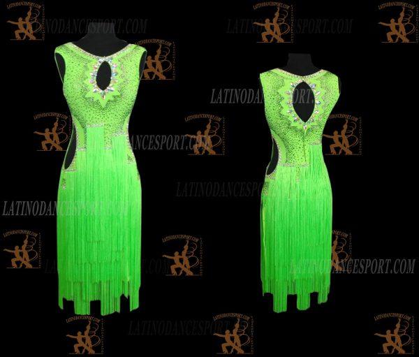 LATINODANCESPORT.COM-Ballroom Latin Rhythm Dance Dress-LDS-78