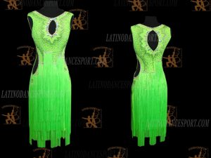 LATINODANCESPORT.COM-Ballroom Latin Rhythm Dance Dress-LDS-78