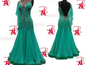 Latinodancesport.com-Ballroom Standard Smooth Dance Dress-SDS-38