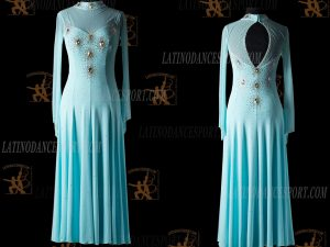 Latinodancesport.com-Ballroom Standard Smooth Dance Dress-SDS-44